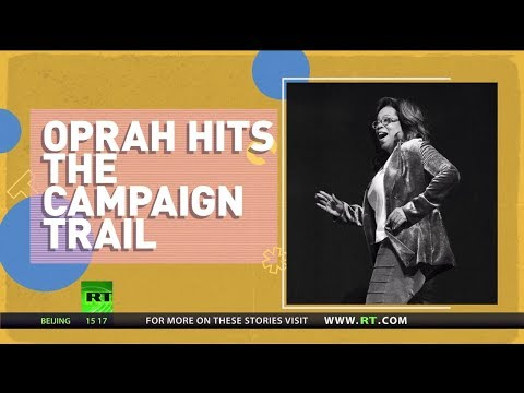 'Everybody gets a vote!' Oprah debunks 2020 campaign rumors but other celebrities spark them