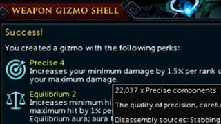 Grinding out Precise 4 Equilibrium 2 gizmos!