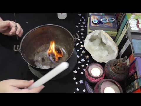 Limpia Brujerías 💀 con Fuego 🔥 ¡Maravilloso!