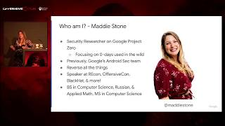 OffensiveCon20 - Maddie Stone - Bad Binder: Finding an Android In The Wild 0day