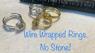 DIY Wire Wrapped Ring