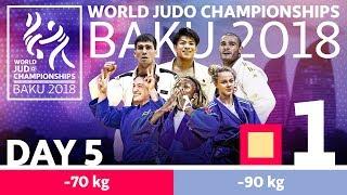 World Judo Championships 2018: Day 5 - Elimination | Kholo.pk
