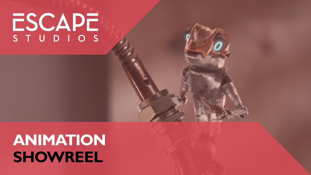 Escape Studios Animation Showreel