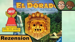 El Dorado (nominiert zum Spiel des Jahres 2017) - Review