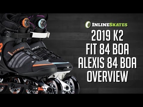 Video: 2019 K2 FIT 84 Boa and Alexis 84 Boa Men