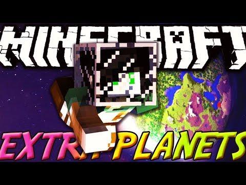 VIAGGIARE NEL SISTEMA SOLARE - Minecraft ITA - Extra Planets Mod Review