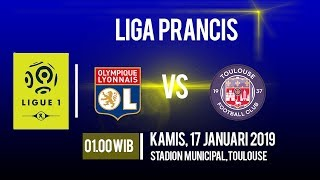 Jadwal Pertandingan dan Cara Live Streaming Toulouse Vs Lyon di HP via MAXStream beIN Sports