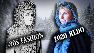 2020 Does The (18)90s - Knitting A Victorian Fascinator || Historical Knitting