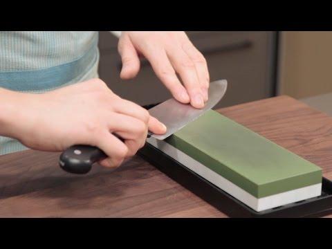 Messer richtig schärfen – auf dem Schleifstein