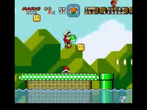 Super Mario World Walkthrough Yellow Switch Palace By