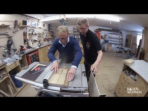 Do it yourself: Weinregal selber bauen mit Michael Truppe (Let's Bastel)