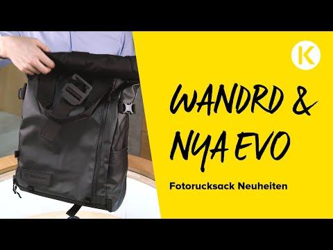 Fotorucksack Neuheiten 2018 | Wandrd - Nya-Evo & Co | Foto Koch