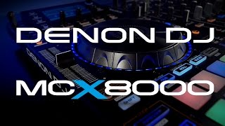 Denon Dj MCX8000 - Video