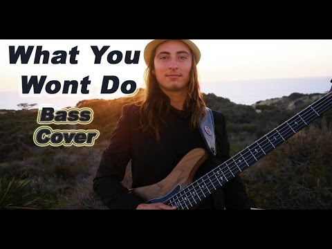What you won't do (Bass Cover) - Kevin Ryan
