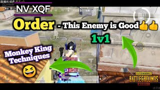 "Nova XQF Order ""The Monkey King 👑""😆🔥 • Order Vs Good Enemy 1v1 Fight in Classic Match"