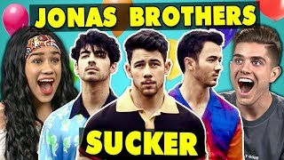 College Kids React To Jonas Brothers   Sucker