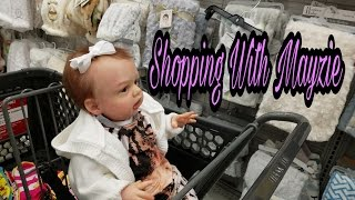 Reborn Baby Goes Shopping At Babies R Us