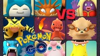 Wigglytuff  - (Pokémon) - Pokémon GO Gym Battles Level 10 Gym Charmeleon Wigglytuff Nidoking Lapras Tentacruel Snorlax & more