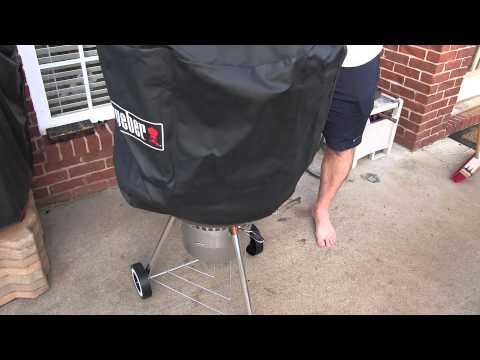 Weber 7453 Premium Kettle Cover Review