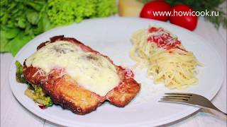 Chicken Parmesan with Spaghetti and Broccoli Rabe by Gordon Ramsay