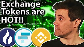Exchange Tokens: More Gains or Overvalued?? 🤔