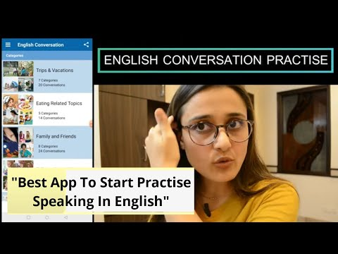 I found an app where you can start practising speaking in English    Improve English speaking