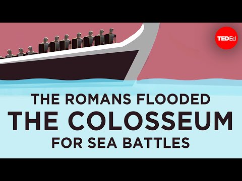 How the Colosseum Hosted Sea Battles
