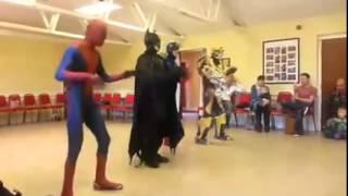 Uptown Funk Superheroes