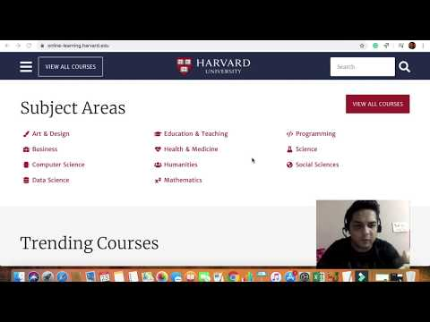 Free Online courses from Harvard University - YouTube