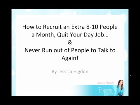 10K Social Media Recruiting Formula - My Bonuses - YouTube