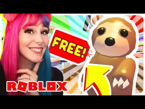 How To Get A FREE SLOTH PET In Adopt Me.. Roblox Adopt Me NEW SLOTH Update