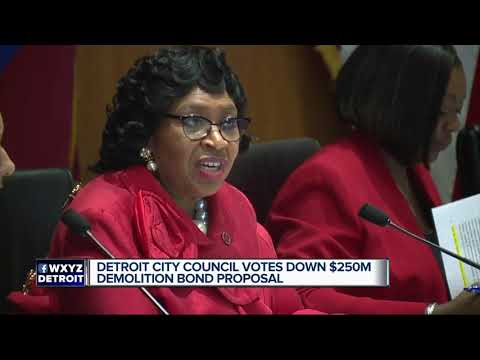 Detroit City Council votes down Mayor Duggan's $250M blight proposal