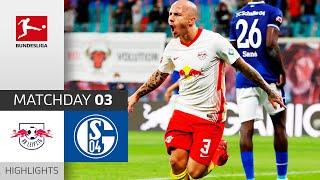 RB Leipzig - FC Schalke 04 | 4-0 | Highlights | Matchday 3 – Bundesliga 2020/21