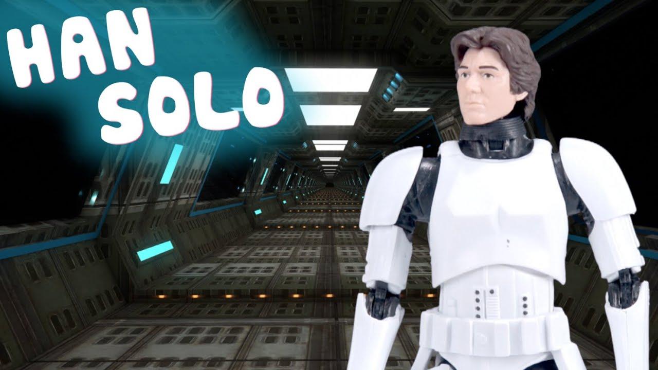 Star Wars Black Series | Han Solo en la Estrella de la Muerte