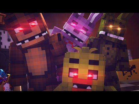 Minecraft FIVE NIGHTS AT FREDDYS - NIGHT 5 w/FREDDY,FOXY