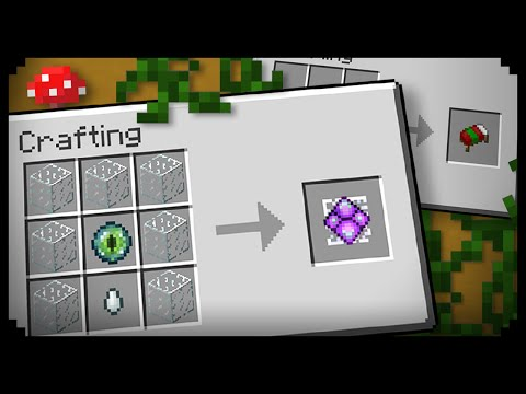 Video ✔ Minecraft: 10 Crafting Recipes I Didn't Know Existed