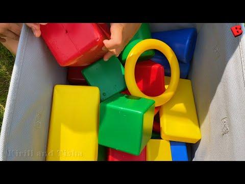 Учим геометрические фигуры для детей | Объёмные фигуры и формы