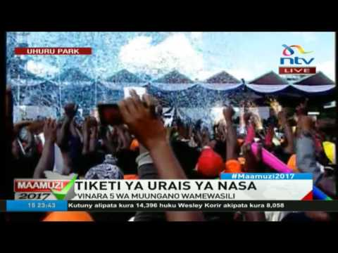 NASA unveils party logo #ElectionsKE