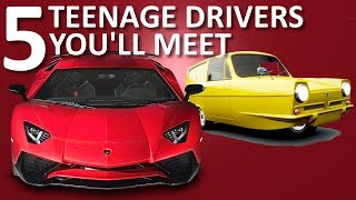 5 Types of Teenage Drivers