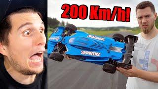Paluten REAGIERT auf 1.100€ RC Auto hebt ab bei 200 Kmh!