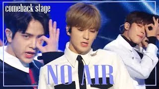 [Comeback Stage] THE BOYZ  -  No Air , 더보이즈 -  No Air Show Music core 20181201