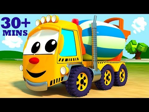 Construction Song with Mighty Machines Part 3 | Other Top Favorite Nursery Rhymes Compilation