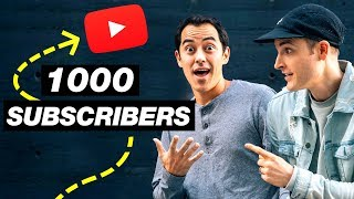 1000 Subscribers Youtube