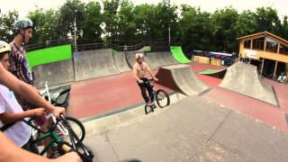 THE BEST SKATEPARK IN THE WORLD - XSA - Ola Selsjord - Kostya Andreev - Alex Nikulin