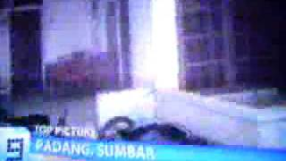 Gempa Padang Video Amatir