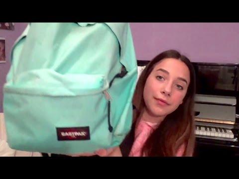 Cosa c'è nel mio zaino di scuola? | Elena Frattarelli