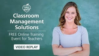 Classroom Management Solutions Live Training