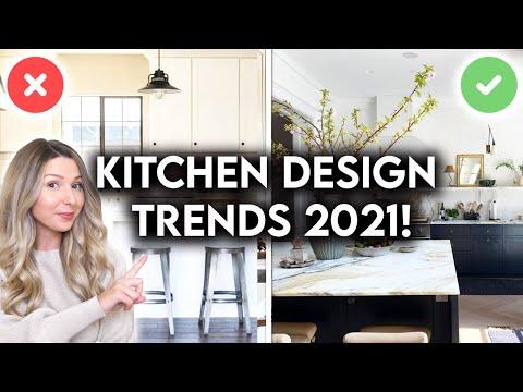 TOP 10 KITCHEN DESIGN TRENDS FOR 2021   INTERIOR DESIGN TIPS