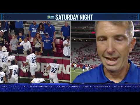 San Jose State Football   Arkansas - Brennan Post-Game Interview