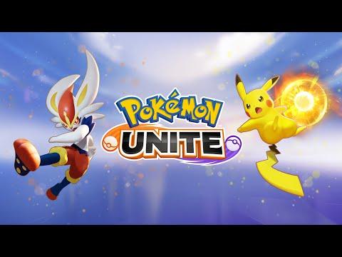 Pokémon UNITE Nintendo Switch Release Trailer